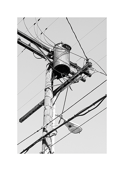 art prints - Power Lines by Becky Nimoy