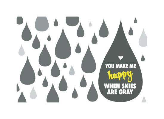 art prints - You Make Me Happy by Kristi