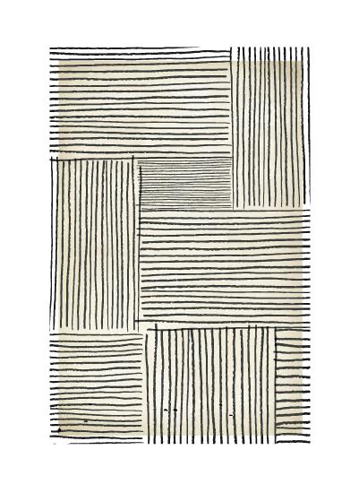 art prints - Sketch Lines by Katie Zimpel
