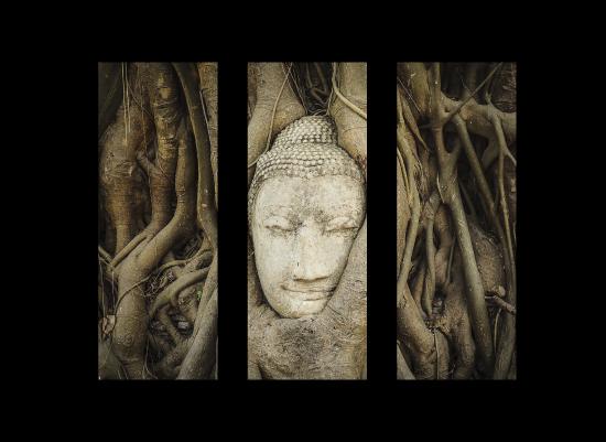 art prints - Buddha Triptych by Hendro Lim