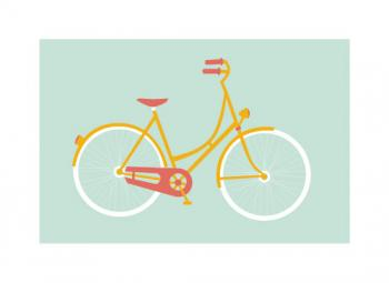 I want to ride my bicycle Art Prints