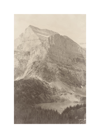 art prints - Glacier National Park by Paper and Parcel