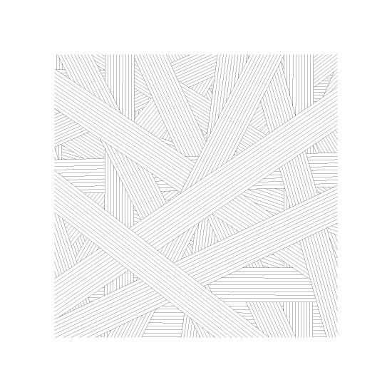 art prints - Lines and a Square by Becky Nimoy