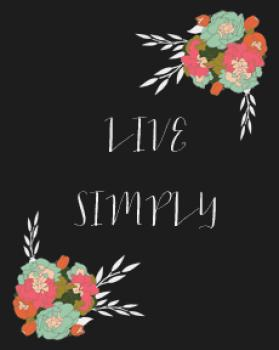 Live Simply, With Whimsy Art Prints