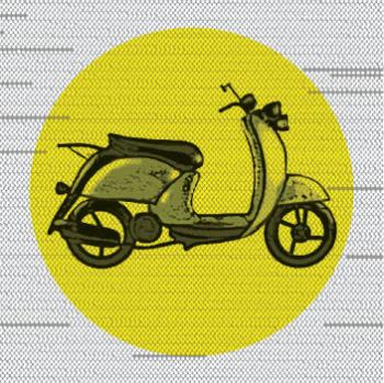 Retro Vespa Art Prints