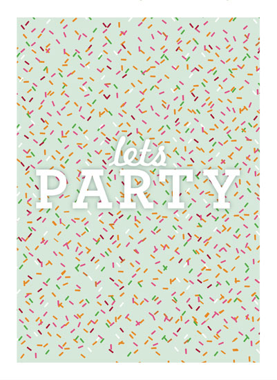 art prints - Sprinkles by Abby Munn