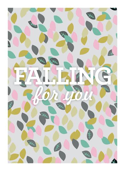 art prints - Falling For You by Abby Munn