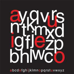 Alphabets  Art Prints
