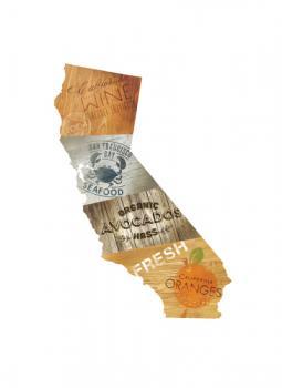 California Flavor Art Prints