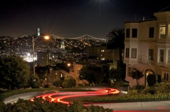Lombard Light Trails