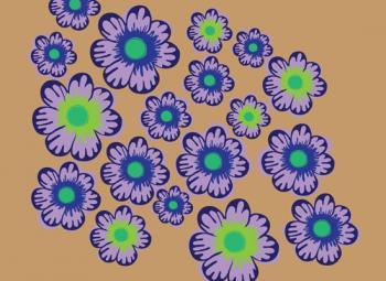 The Punchy Floral Art Prints