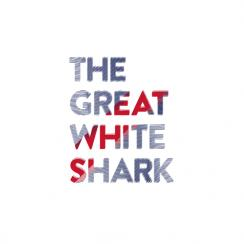 The Great White Type Art Prints