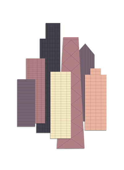 art prints - Simple City by Jessie Steury