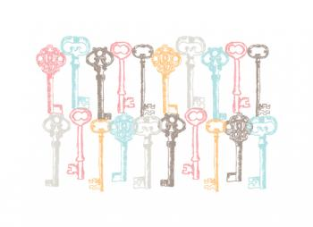 All Keyed Up Art Prints