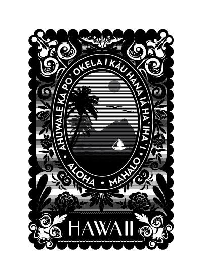 art prints - Aloha Spirit by Eva Nashed