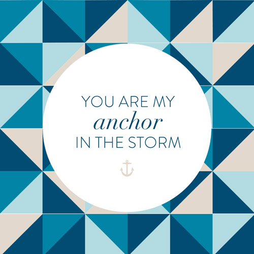 art prints - Anchor in the Storm by Jordan Bariesheff
