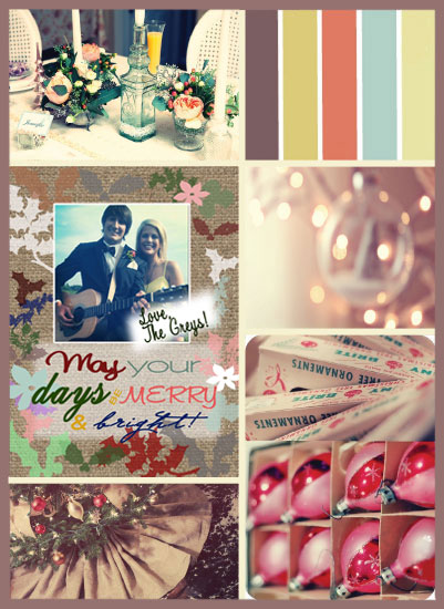 art prints - Soft Vintage Christmas by Taylor Grey