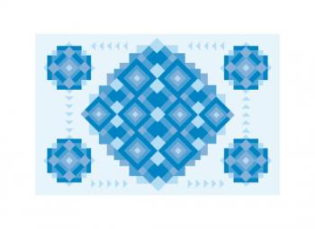 Blocks of Blue Art Prints