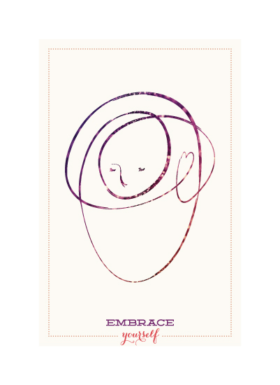art prints - Embrace Yourself by Sara C.