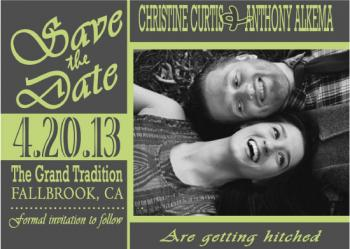 fun lovin'  Save the Date Cards