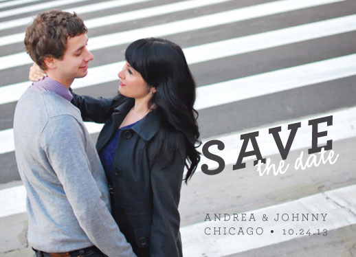save the date cards - star crossed