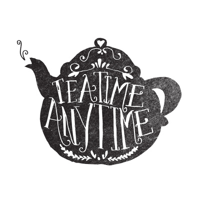 art prints - TEA TIME. ANY TIME. by Matthew Taylor Wilson