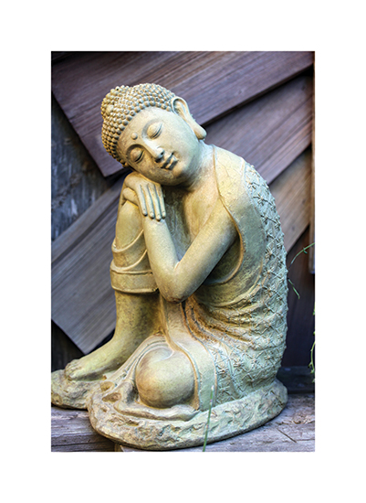 art prints - Resting Buddha by Becky Nimoy
