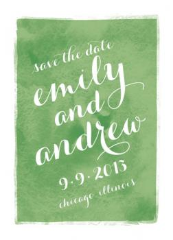 Just a Note Save the Date Cards