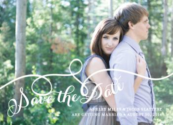 Rhythmic Save the Date Cards