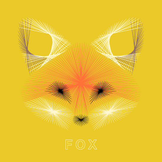 art prints - Wary Fox by Kristen Cordova