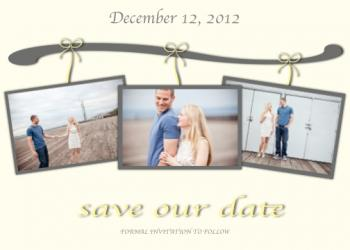 Close Line Save the Date Cards