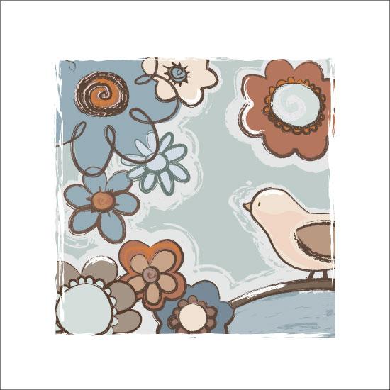 art prints - flowerfall by peetie design
