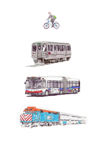 art prints - Chicago Fleet by NomadicPoetryStudio