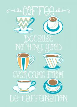 Coffee:  De-caffeination