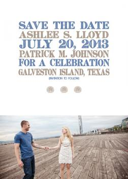 Coastal Dreams Save the Date Cards