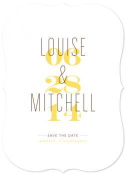 Simply Us Save the Date Cards
