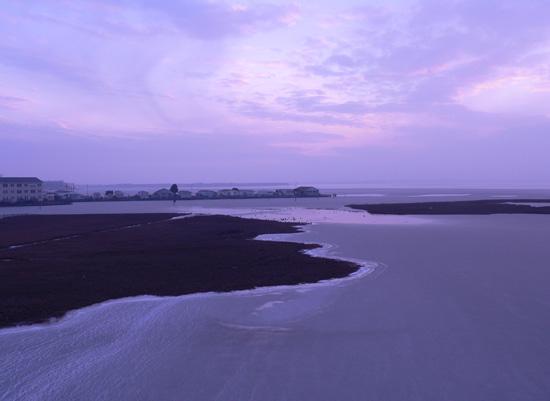 art prints - Ocean City Bayside in Winter by Julie Marquardt