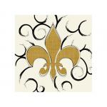 Antique Fleur de Lis by Jeanette Kennedy