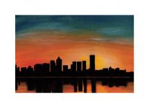 Urban Sunset by Jeanette Kennedy