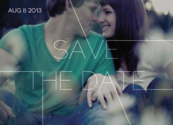 Our Journey Save the Date Cards