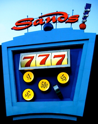 art prints - sands casino by Atom Gunn