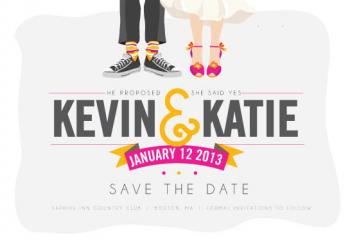 sassy save the date