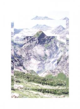 Experimental Mountain Art Prints