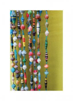 Uganda Paper Bead Necklaces 2