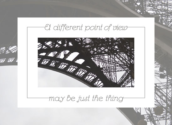 art prints - A Different Point of View by Megan Duran
