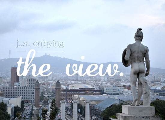 art prints - Just Enjoying the View by Megan Duran