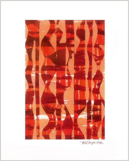 art prints - Lava Lounge by Peter Simpson Cook