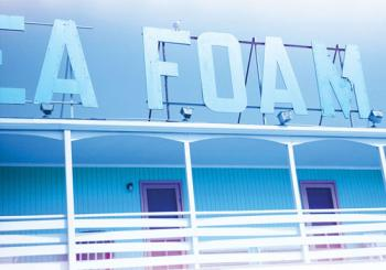 Sea Foam Motel Art Prints