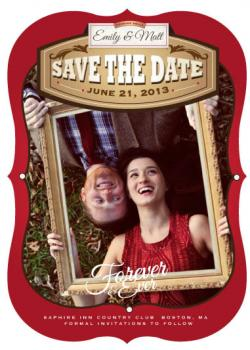 Forever & Ever Save the Date Cards