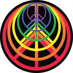 Peace Rainbow Art Prints